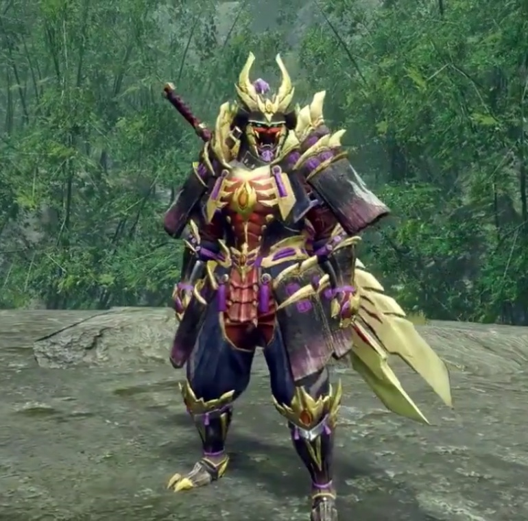 Monster Hunter Rise - Magnamalo Armor Set (Male)