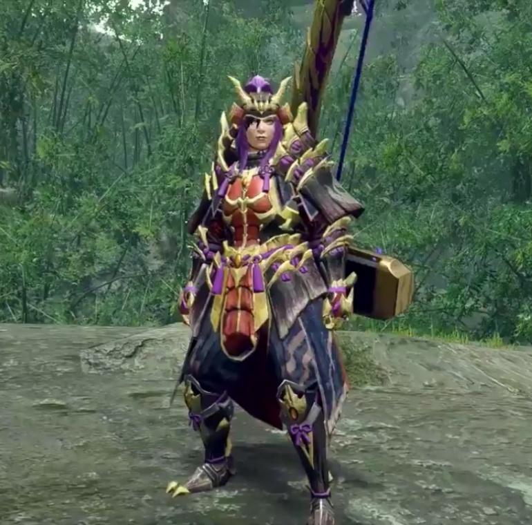 Monster Hunter Rise - Magnamalo Armor Set (Female)