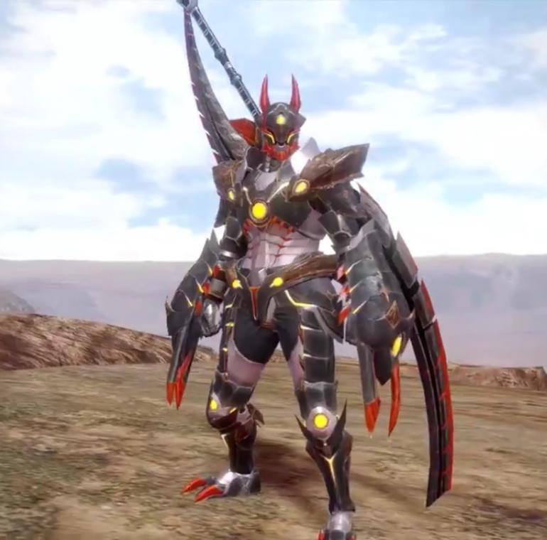 Monster Hunter Rise - Almudron Armor Set (Male)