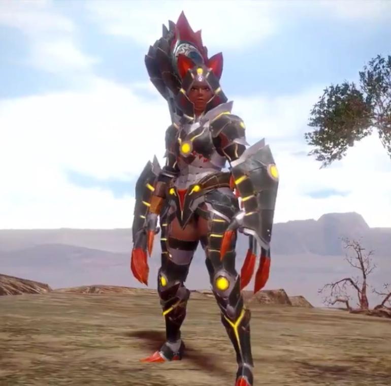 Monster Hunter Rise - Almudron Armor Set (Female)