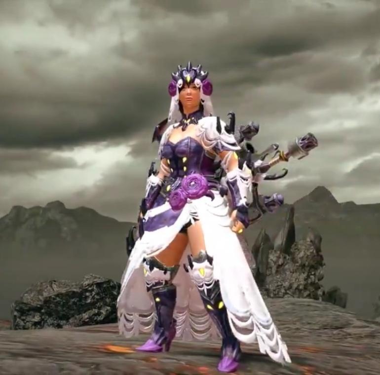 Monster Hunter Rise - Rakna-Kadaki Armor Set (Female)