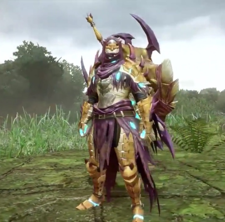Monster Hunter Rise - Somnacanth Armor Set (Male)