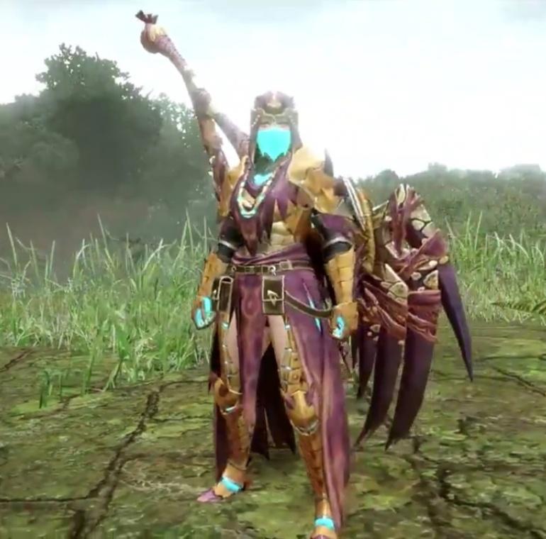 Monster Hunter Rise - Somnacanth Armor Set (Female)