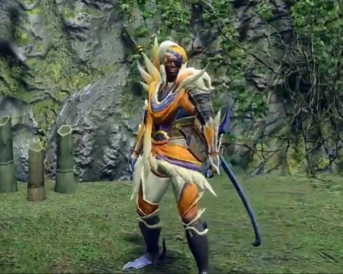 Monster Hunter Rise - Great Izuchi Armor Set (Male)