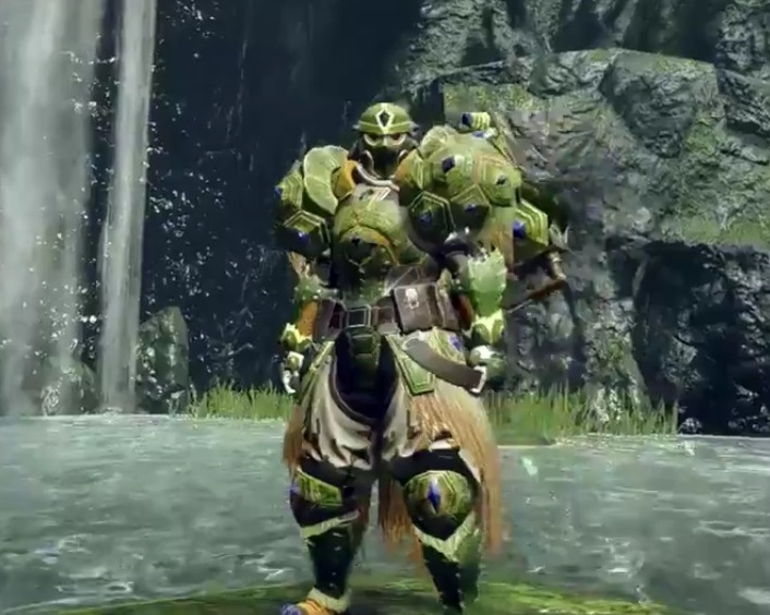 Monster Hunter Rise - Tetranadon Armor Set (Male)