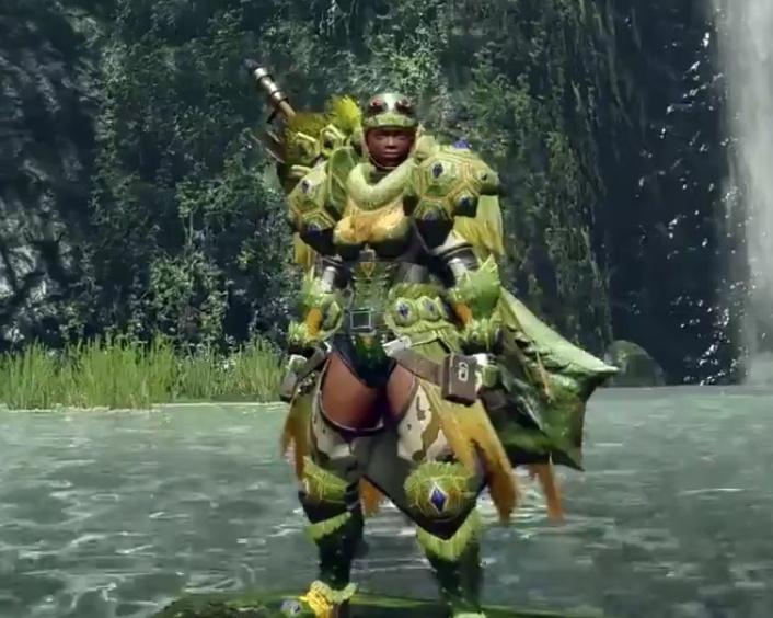 Monster Hunter Rise - Tetranadon Armor Set (Female)