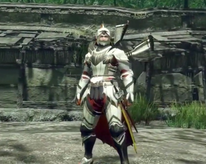 Monster Hunter Rise - Aknosom Armor Set (Male)