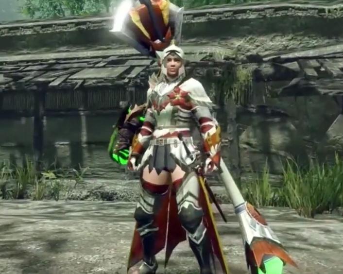 Monster Hunter Rise - Aknosom Armor Set (Female)