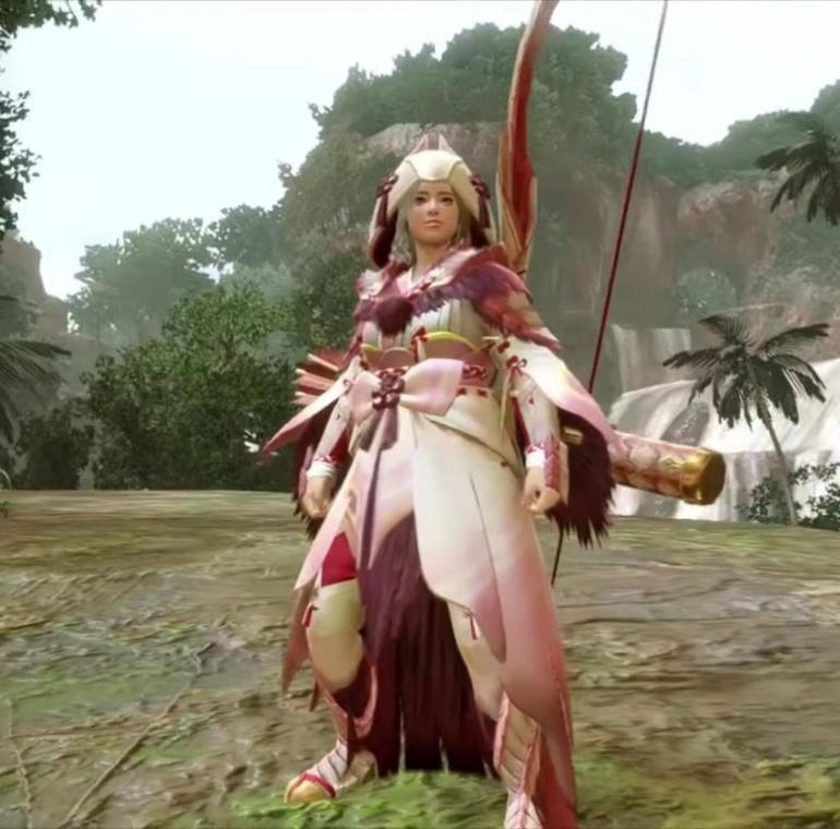 Monster Hunter Rise - Mizutsune Armor Set (Female)