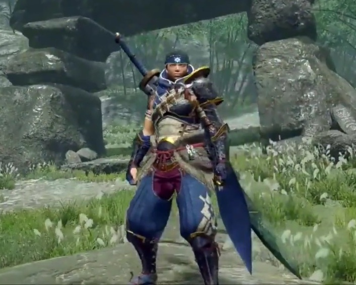 Monster Hunter Rise - Kamura Armor Set (Male)