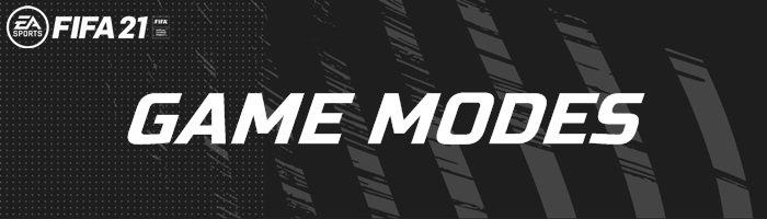 FIFA 2021 - Game Modes Banner