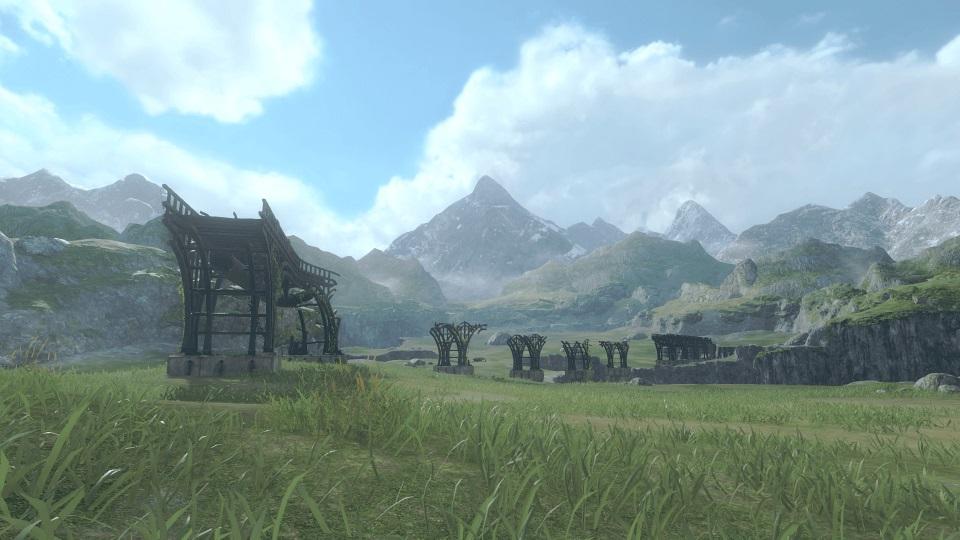 NieR Replicant Remaster - Grassland