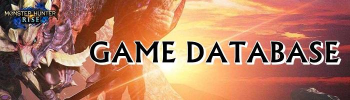 Monster Hunter Rise - Game Database Banner