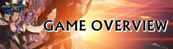 Monster Hunter Rise - Game Overview Banner