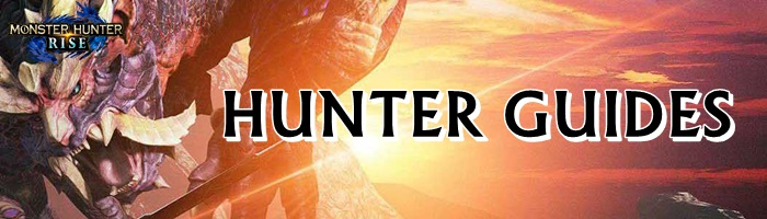 Monster Hunter Rise - Hunter Guides Banner