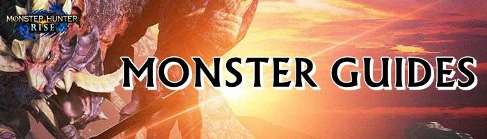 Monster Hunter Rise - Monster Guides Banner