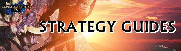 Monster Hunter Rise - Strategy Guides Banner