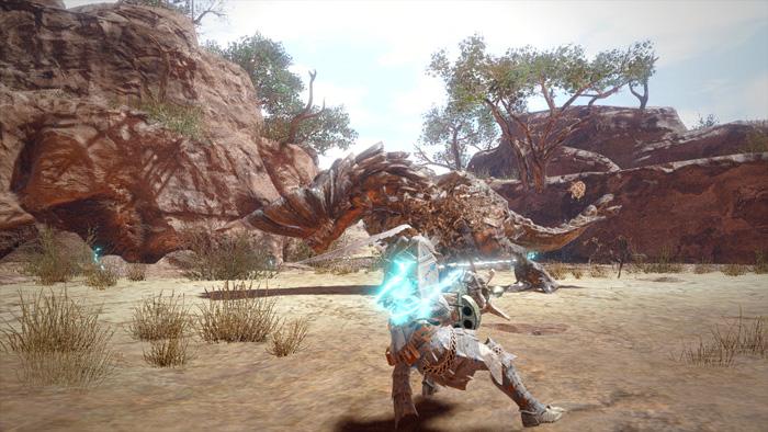 Monster Hunter Rise - Light Bowgun Hunter Silkbind Attack Fanning Maneuver