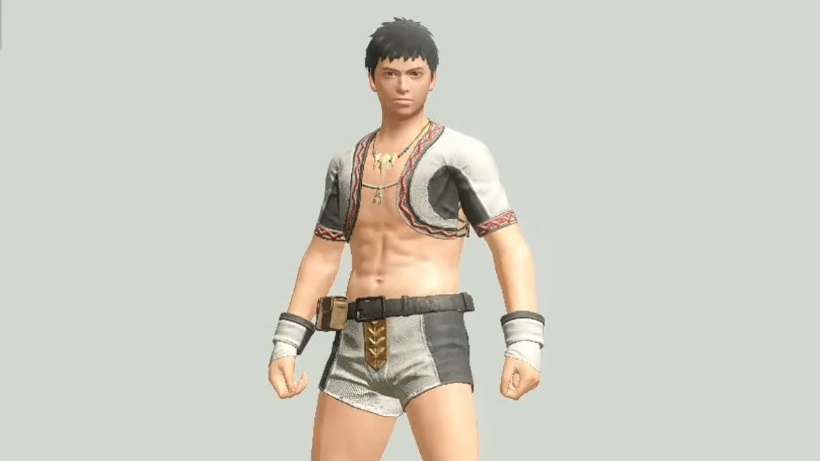 Monster Hunter Rise - Character Type 1 Male