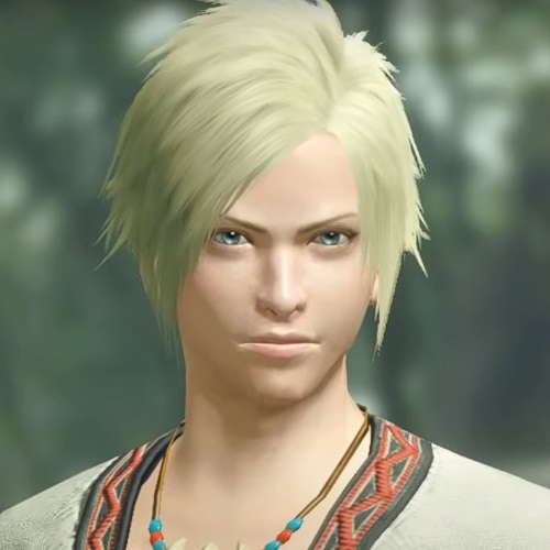 Monster Hunter Rise - Male Character Face Type 1