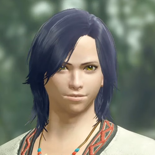Monster Hunter Rise - Male Character Face Type 3