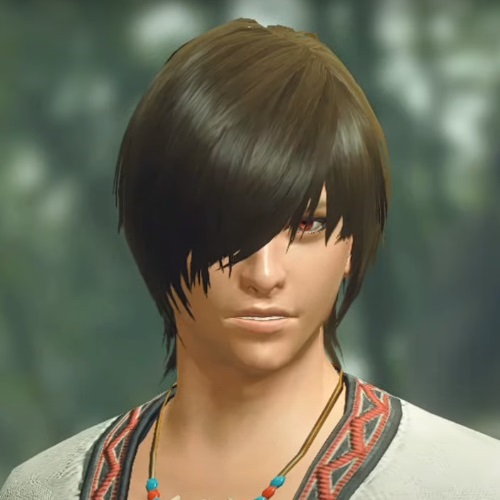 Monster Hunter Rise - Male Character Face Type 5