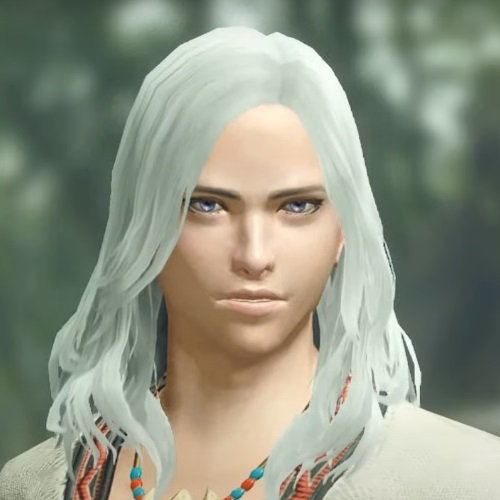 Monster Hunter Rise - Male Character Face Type 4