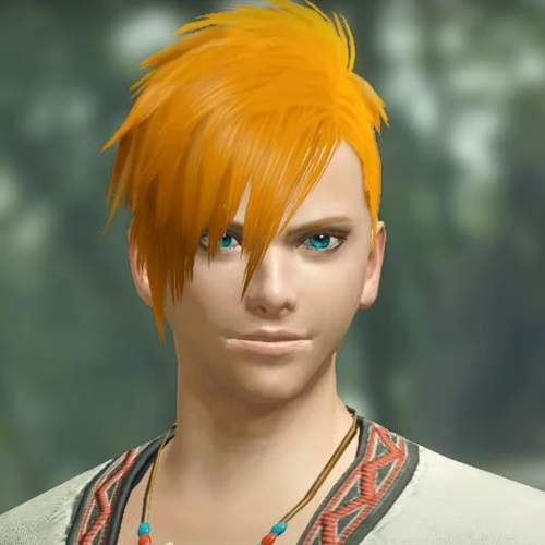 Monster Hunter Rise - Male Character Face Type 2