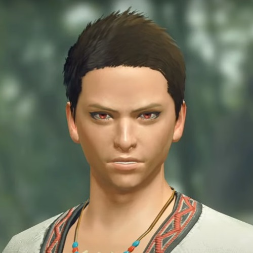 Monster Hunter Rise - Male Character Hair Style 1