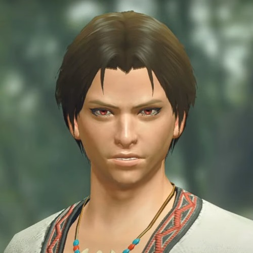 Monster Hunter Rise - Male Character Hair Style 4