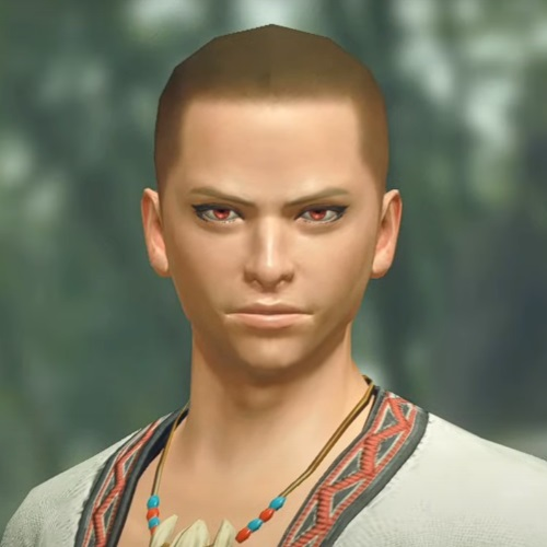 Monster Hunter Rise - Male Character Hair Style 3