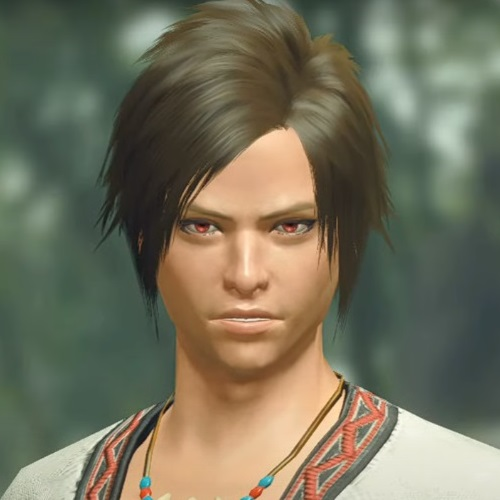 Monster Hunter Rise - Male Character Hair Style 2