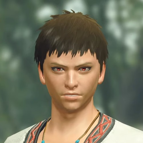 Monster Hunter Rise - Male Character Hair Style 5