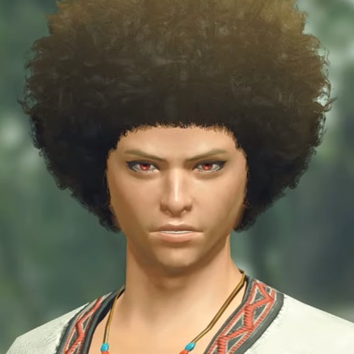 Monster Hunter Rise - Male Character Hair Style 10
