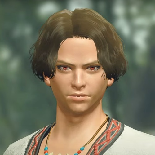 Monster Hunter Rise - Male Character Hair Style 8