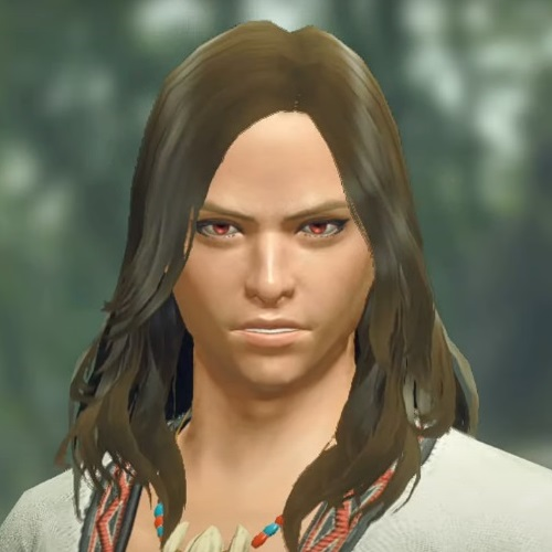 Monster Hunter Rise - Male Character Hair Style 12