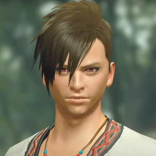 Monster Hunter Rise - Male Character Hair Style 6