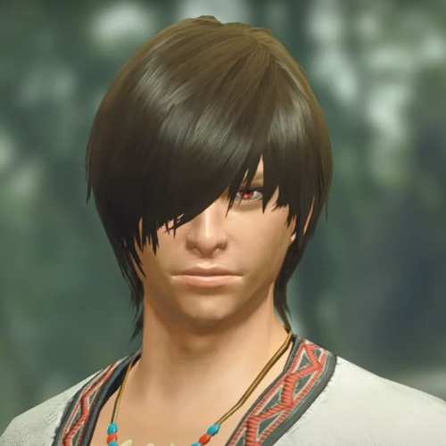 Monster Hunter Rise - Male Character Hair Style 7