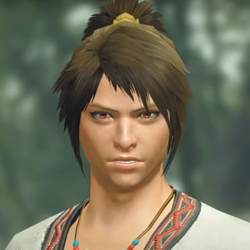 Monster Hunter Rise - Male Character Hair Style 11