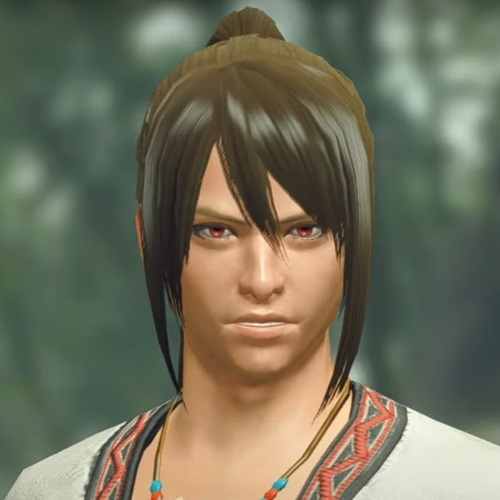 Monster Hunter Rise - Male Character Hair Style 24