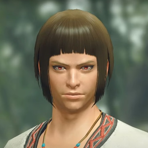 Monster Hunter Rise - Male Character Hair Style 17