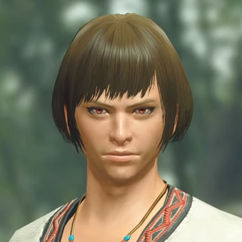 Monster Hunter Rise - Male Character Hair Style 16