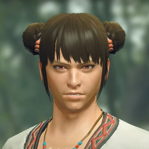 Monster Hunter Rise - Male Character Hair Style 19