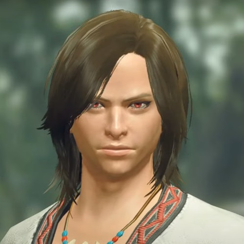 Monster Hunter Rise - Male Character Hair Style 15