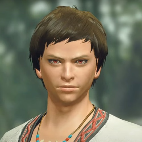 Monster Hunter Rise - Male Character Hair Style 14