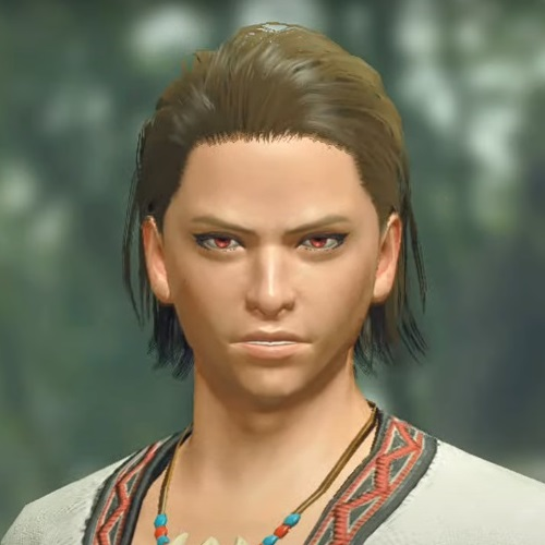 Monster Hunter Rise - Male Character Hair Style 13
