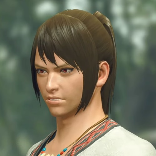 Monster Hunter Rise - Male Character Hair Style 18