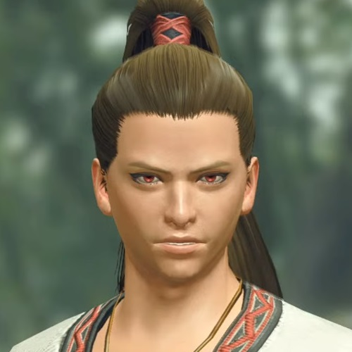 Monster Hunter Rise - Male Character Hair Style 21