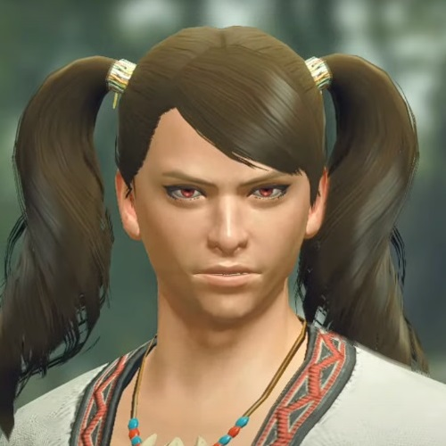 Monster Hunter Rise - Male Character Hair Style 22