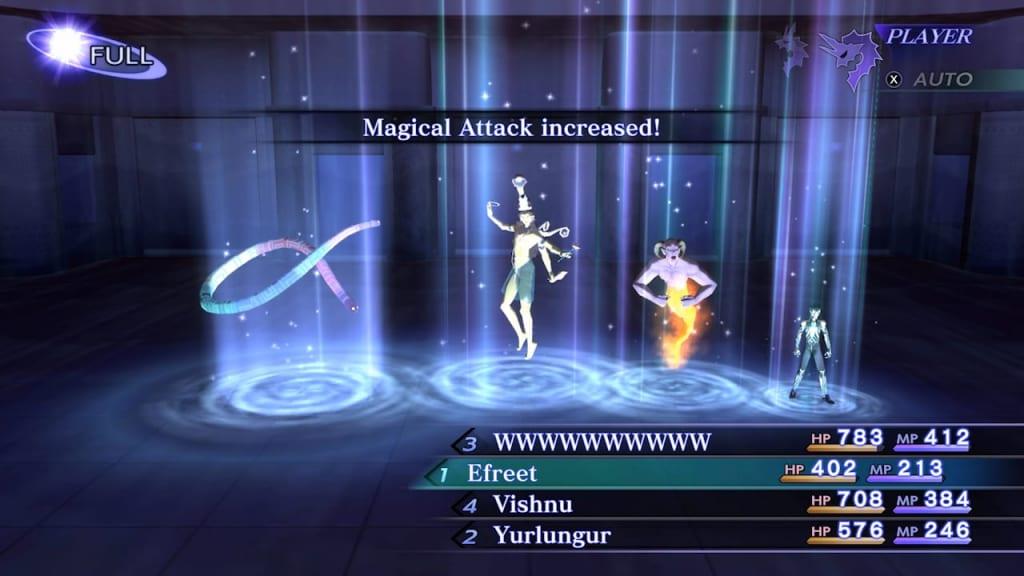 Shin Megami Tensei III: Nocturne HD Remaster - Battle System Boost Allies